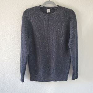 Eleventy cashmere speckled ribbed sweater